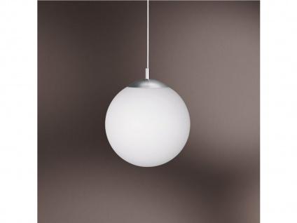 Kugel-Pendelleuchte Ø 20 cm, Glas opalweiß, Wofi-Leuchten