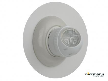 0, 5W LED-Nachtlicht mit 360° Rotation+ Dämmerungssensor Schlummerlicht Flurlicht