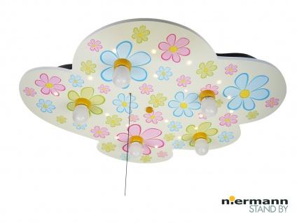 Kinder Deckenleuchte Wolkenlampe mit Zugschalter für LED-Schlummerlicht Sterne