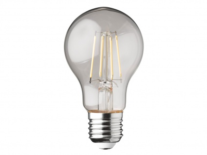 Filament LED dimmbar E27 Leuchtmittel Glühlampe Klares Glas 4W 350lm 2700K