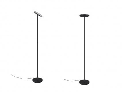 LED Deckenfluter PONDA variabel verstellbar Schwarz Sensor Dimmer, 179cm Ø28cm - Vorschau 3