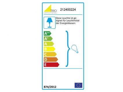 Dimmbare LED Wandbeleuchtung für Innen mit Up & Down Spots, rostfarbige Strahler - Vorschau 3