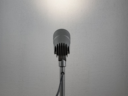 2 x Erdspießleuchte LED Gartenstrahler schwenkbar, Beleuchtung Fassade Haus IP54 - Vorschau 4