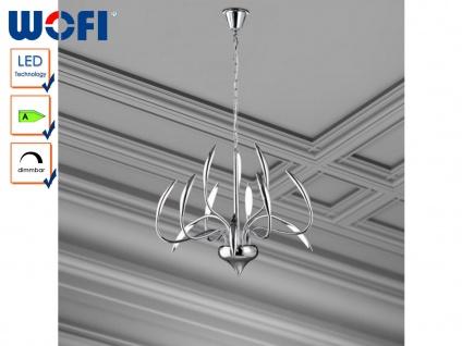 LED Pendelleuchte dimmbar, Kronleuchter modern Ø 70cm, Wofi-Leuchten - Vorschau 1