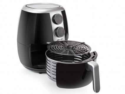 Heißluftfritteuse & 3tlg Zubehörset - Friteuse ohne Öl 3, 5Ltr. Fritöse 1500 Watt - Vorschau 2