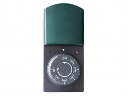 Feuchtraumzeitschaltuhr, IP44, Countdown-Funktion, GAO