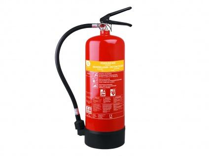 Feuer Schaumlöscher 6 Liter, Brandklasse A, B, Brandbekämpfung Brandlöscher