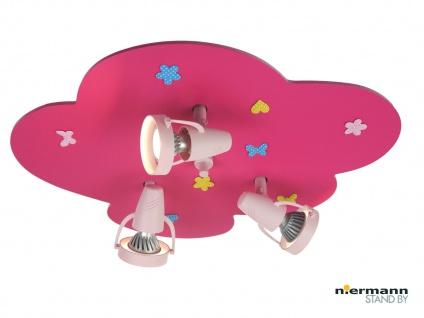 Deckenstrahler BLUMENWIESE 3flammig, Spots schwenkbar, Wolkenlampe *NEU*