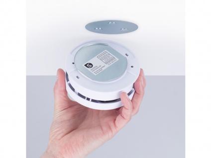 Funkvernetzbarer Hitzemelder + Magnethalter Wärmemelder für ELRO Connects System - Vorschau 4