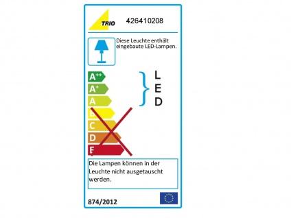LED-Fluter, ink. COB-LEDs, Höhe 180cm, Doppeldimmer, Messing matt - Vorschau 4