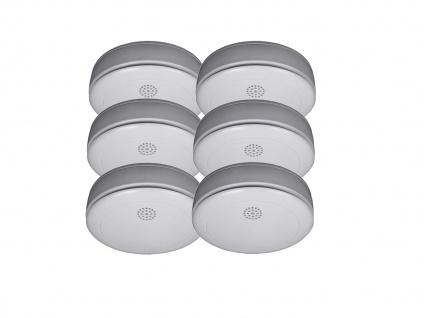 6er SET Rauchmelder 10 Jahres Batterie, VdS zertifiziert-Q-Siegel, Feuermelder - Vorschau 2