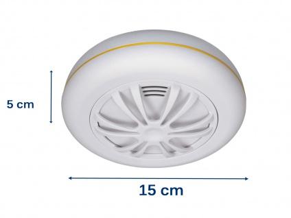 Funkvernetzbarer Hitzemelder + Magnethalter Wärmemelder für ELRO Connects System - Vorschau 2