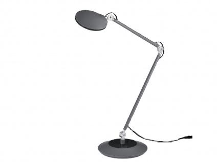 LED Schreibtischleuchte Tischlampe anthrazit RODERIC, H. 50 cm, 1x 6W LED, Trio