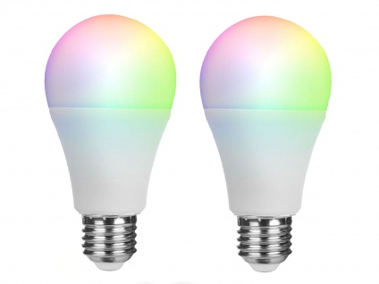 2er Set ZUSATZ intelligente E27 LED Birnen Smarthome PRO - dimmbar & Farbwechsel - Vorschau 2