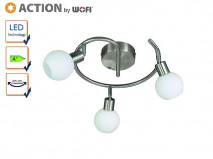 LED Deckenleuchte / Spirale 30cm, Spots schwenkbar, Action by Wofi