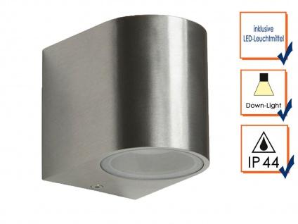 2er Set Ranex SMD-LED Wandleuchte Metall, downlight, IP44, 230Lm - Vorschau 3