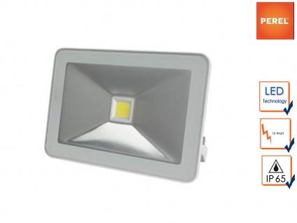 Strahler weiß Baustrahler LED warmweiß, Scheinwerfer Arbeitsleuchte Flutlicht