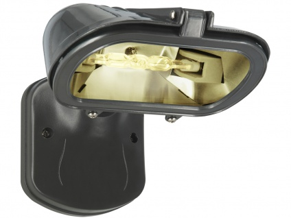 Elro HL128T Lichtverstärkter Halogenstrahler 120W, IP54