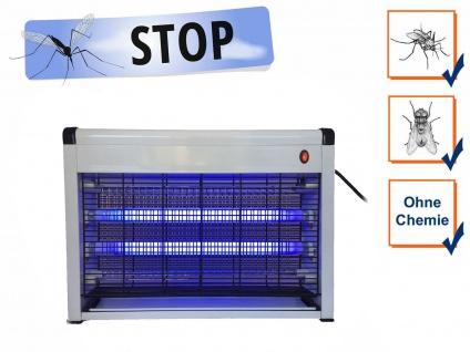 Mücken bekämpfen Abwehr Insektenvertreiber elektrisch mit Ventilator /& Timer