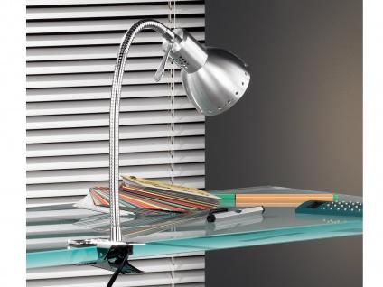 Tischleuchte, verstellbar, Chrom, aluminium, Honsel-Leuchten, PITTSBURGH