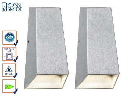 2er-Set Up/Down Außenwandleuchten IMOLA, 6 Watt High-Power-LEDs IP44 - Vorschau 1