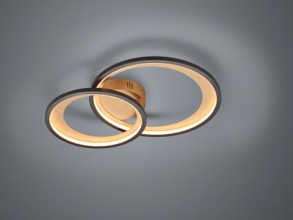 Hochwertige LED Ringleuchte Deckenlampe für große Räume coole Galeriebeleuchtung