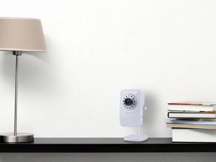 WiFi Kamera, Handy-App, bis 4 User, Bewegungserkennung, Smartwares
