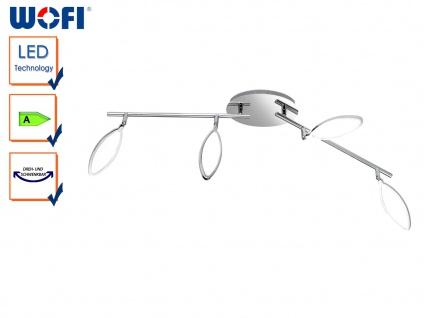 4-flammige LED Deckenleuchte CHARLIZE, L 87 cm, LED Deckenlampen, Deckenlampe