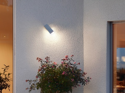 2er-Set Design Außenwandleuchte IMOLA, 3 Watt High-Power-LED, IP54 - Vorschau 5