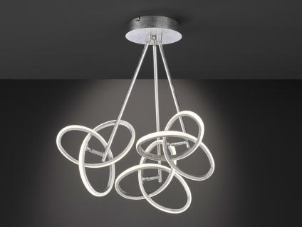 LED Deckenleuchte Blattsilber-Optik 39W verstellbar - Designerleuchte Esszimmer - Vorschau 5