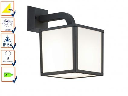 Außenwandleuchte IP54, 1x E27, Außenleuchte Wegeleuchte Wandleuchte LED, Trio