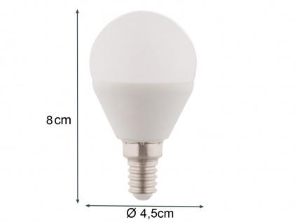 LED Leuchtmittel 5 Watt DIMMBAR für E14 Fassung 400 Lumen 3000 Kelvin Ø4, 5cm, A+ - Vorschau 3