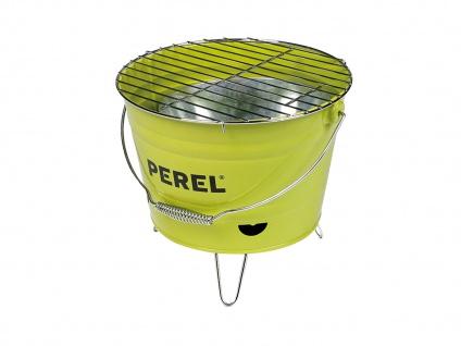 Eimergrill Minigrill Partygrill Grilleimer Picknick Holzkohlegrill Ø 27cm