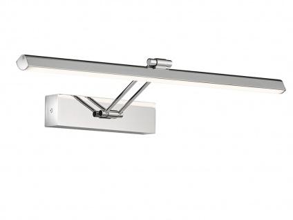 Schwenkbare Honsel LED Badezimmerwandlampe Spiegelleuchte 60cm, Badbeleuchtung