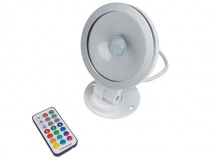 10W RGB LED Flutlichtstrahler mit Fernbedienung für innen u. außen, Partylight - Vorschau 2