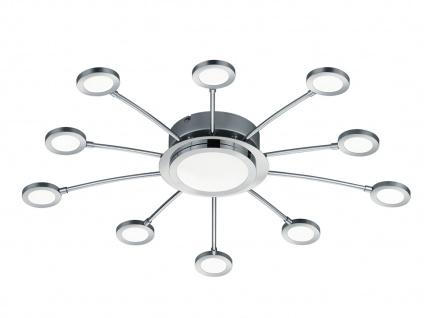 Moderne LED Deckenleuchte mit Fernbedienung Dimmer Farbwechsel Nachtlicht Ø 65cm