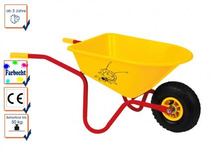 Kinderschubkarre / Gartenspielzeug / -DIE BIENE MAJA-, Velleman