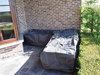Schutzhülle Abdeckung L-förmig für Loungemöbel, 215x215cm, Abdeckplane Lounge