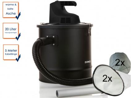 Aschesauger zum Aufsaugen von Asche + 2x Motorfilter + 2x Staubbeutel