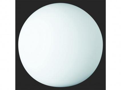 Kugel LED Tischleuchte Bodenlampe Deko Glaskugel innen Weiß Ø20cm Lichtobjekte - Vorschau 5