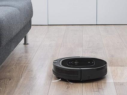 Staubsaugerroboter ohne Beutel, App Steuerung, Alexa kompatibel, Akkusauger HEPA