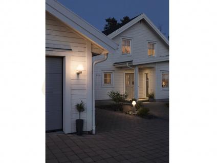 2 Stk Konstsmide Außenwandleuchten BARLETTA grau / opal, Beleuchtung Haus Wand - Vorschau 5
