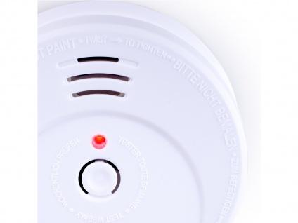 6er-SET Rauchmelder 5 Jahres Batterie TÜV geprüft + Magnetbefestigung Alarm - Vorschau 3