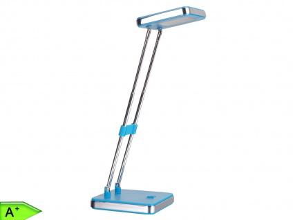 LED Schreibtischleuchte KAAT blau Tischleuchte Tischlampe Schreibtischlampe 2, 5W