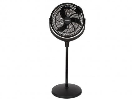 Standventilator Tischlüfter Höhenverstellbar Ø 40cm - Zimmerventilator fürs Büro