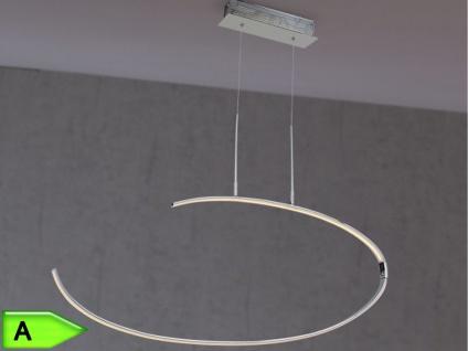 LED Pendelleuchte LEX, Chrom, Ø 80 cm, inkl. LED, Wofi-Leuchten