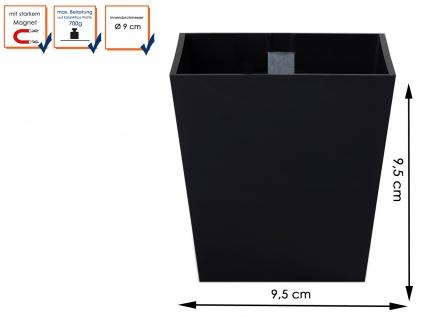 Wandaufbewahrung, Set aus Magnettafel und 3 verschiedenen Töpfen, KalaMitica - Vorschau 5