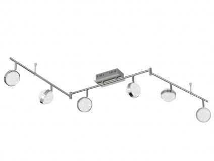 6-flammiger LED Deckenbalken, Sterndesign, MONDE, Deckenlampen Deckenleuchten - Vorschau 2