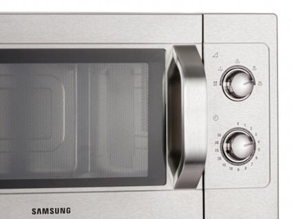 Samsung Profi Edelstahl-Mikrowelle Mikrowellengerät 26 Liter 1100 Watt - Vorschau 3