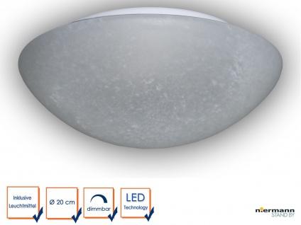 Design LED Decken Lampe PERGAMENT Flurbeleuchtung LED Dielenlampe Ø20cm